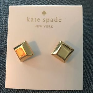 Kate Spade 1559 Gold Stud Earrings